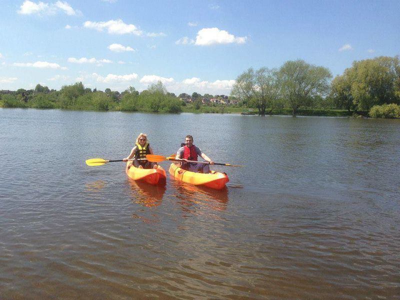 Kayaking with steve_opt