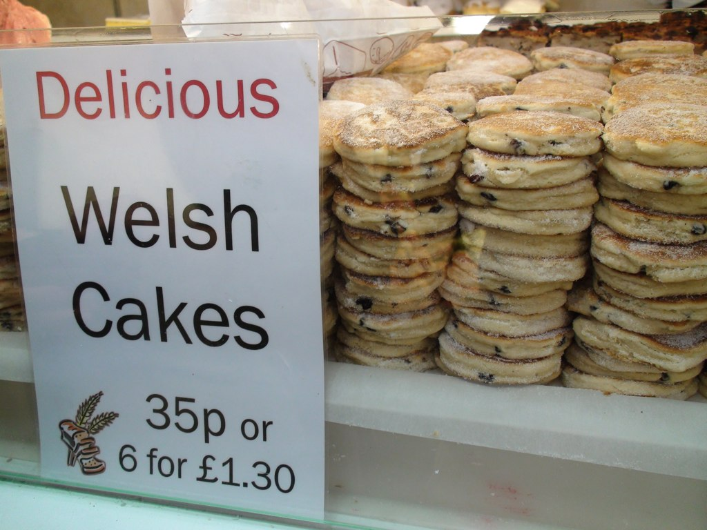 Wouldn't be Wales without Welsh cakes!
